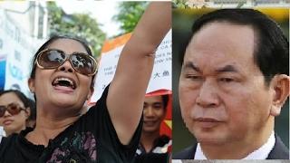 Download Bà Bùi Thị Minh Hằng hiên ngang thách đố Trần Đại Quang Video