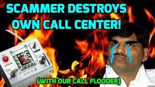 Download Indian Scammer Destroys Own Call Center! Video