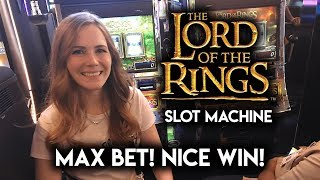 Download Nice Win on The Lord Of The Rings! Slot Machine! Max Bet Free Spins!!! GREAT RUN! Video