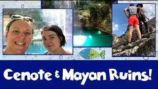 Download Into the Jungles of Mexico CENOTE & MAYAN RUINS |Cancun Vacation Vlog Day 11 [ep21] Video
