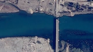 Download Satellite Imagery: The Cutting of Mosul's Bridges Video