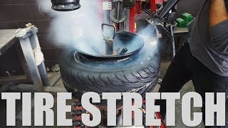 Download Tire Stretch: 185/60R13 on 13x10 Video