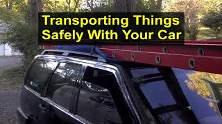 Download Securing things to the top of your vehicle for transportation or delivery. - VOTD Video