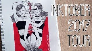 Download Inktober 2017 Sketchbook Tour ~ SmokedHam Video