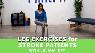 Download Easy Leg Exercises for Stroke Patients (Guided by a Physical Therapist) Video