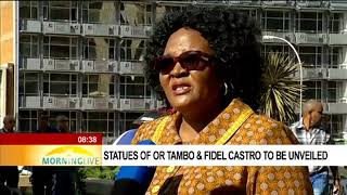 Download Statues of OR Tambo & Fidel Castro to be unveiled Video