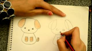 Download Dibuja un perrito kawaii Dibujin Dibujado Aprende a dibujar Video