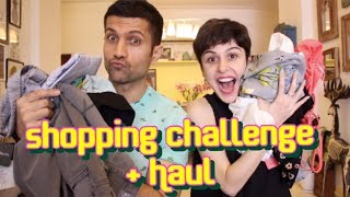 Download Giveaway    Shopping Challenge + Haul! Video