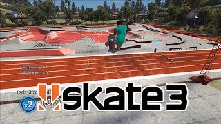 Download Skate 3 Challenge #7: Fly Over The Carvatron Video