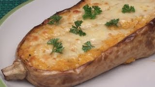 Download Baked Cheesy Butternut Squash Recipe Video