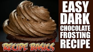 Download Easy Dark Chocolate Frosting Recipe (Boiled icing recipe ) Video