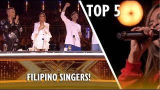 Download TOP 5 Most AMAZING FILIPINO SINGERS EVER ON X FACTOR UK! Video