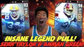 Download WE GET SEAN TAYLOR & AHMAN GREEN! ULTRA RARE PACK LUCK! MADDEN 17 ULTIMATE TEAM PACK OPENING Video