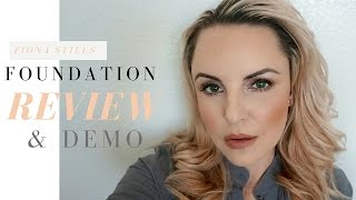 Download FIONA STILES foudation review || Matte vs Luminous- Elle Leary Artistry Video