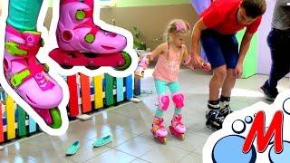 Download РОЛЛЕРДРОМ - Учимся кататься на роликах с инструктором - Rollerdrom How learn roller skate Video