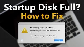 Download Startup Disk Full on Mac? How to Fix (Delete ″Other″ space) Video