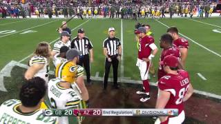 Download FAIL! Coin Toss Doesn't Flip For OT | Packers vs. Cardinals | NFL Video