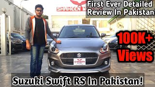 Download Suzuki Swift RS 4th Gen Review - Exclusive Review Of New Swift In Pakistan - Price Specs & Features Video