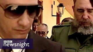 Download Bodyguard reveals lifestyle of Fidel Castro - Newsnight archives Video