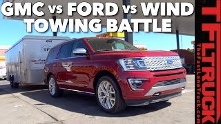Download 2018 Ford Expedition vs GMC Yukon: Which Truck Gets Better MPG Towing? Video