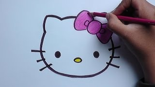 Download Dibujo de hello kitty - Hello kitty drawing Video