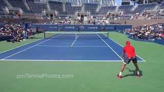 Download Kyrgios v Sock, 2017 US Open practice, 4K Video