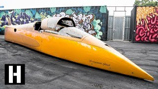 Download What has 2600HP and goes 460MPH? LS Powered Landspeed Record Crusher! Video