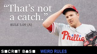 Download MLB has its own problematic catch rule | Weird Rules Video