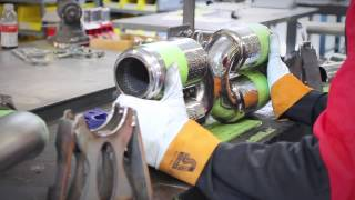 Download How It's Made: Porsche Twin Turbo Supersport X-Pipe Exhaust Video