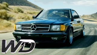 Download Converting a Mercedes 500 SEC Into an AMG Vehicle | Wheeler Dealers Video