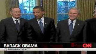 Download Obama Meets With Former Presidents Video