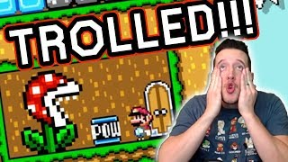 Download Mayro Made Me ANOTHER Painful Troll Level in Mario Maker... Video