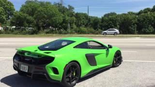 Download McLaren 675LT with Straight Pipe Exhaust - McLaren Tampa Bay Video