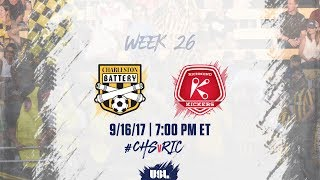 Download USL LIVE - Charleston Battery vs Richmond Kickers 9/16/17 Video