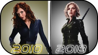Download EVOLUTION of BLACK WIDOW in Movies (2010-2018) Natasha Romanoff History in Avengers Infinity War Video