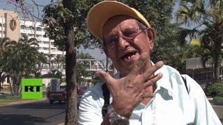Download Salvadoreños responden a las despectivas declaraciones de Trump sobre su país Video
