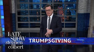 Download Thanksgiving And Trump's (Lack Of) Giving Video