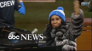 Download Aretha Franklin National Anthem Video
