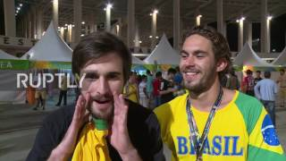 Download Brazil: Fans rejoice sweet revenge against Germany after Brazil wins men's football gold Video