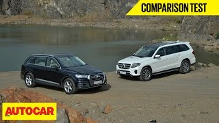 Download Audi Q7 VS Mercedes-Benz GLS | Comparison Test | Autocar India Video