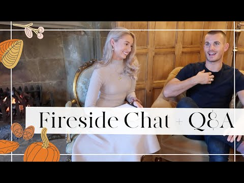 FIRESIDE CHAT WITH CHARLIE 🔥 Moving House Tips, Looking Back on 6 Months at the NEW HOUSE // Q&A 🔥