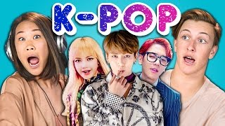 Download Teens React to K-Pop (BTS - Blood, Sweat & Tears, BLACKPINK, EXO-CBX) Video