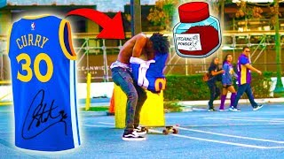 Download STEPHEN CURRY JERSEY (AUTOGRAPHED) BAIT PRANK!! Video