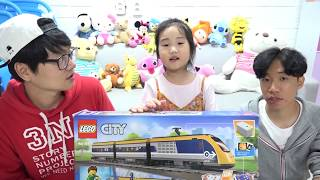 Download 보람이의 레고시티 여객열차 장난감 놀이 Diving down for Toy Train Video