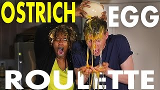 Download OSTRICH EGG ROULETTE CHALLENGE w/ GLOZELL | Collins Key Video