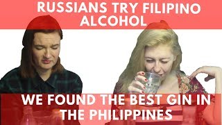 Download Russians try Filipino alcohol! We found the best gin in the Philippines Video