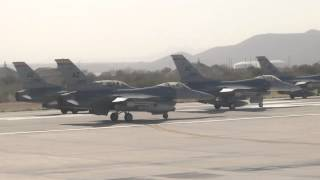 Download F-16 Fighters Interupt Our Flight Video
