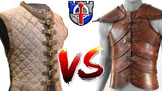 Download Why padded armor (gambeson) is WAY better than leather armor Video