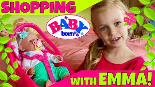 Download ☘Baby Born Emma Shopping At Target With Skye! 🛍But First, Let's Get Her Ready! 🤗 Video