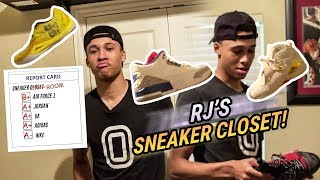 Download RJ Hampton Doesn't Have A Sneaker Closet... He Has A SNEAKER ROOM! Top Point Guard Got The DRIP 🔥 Video